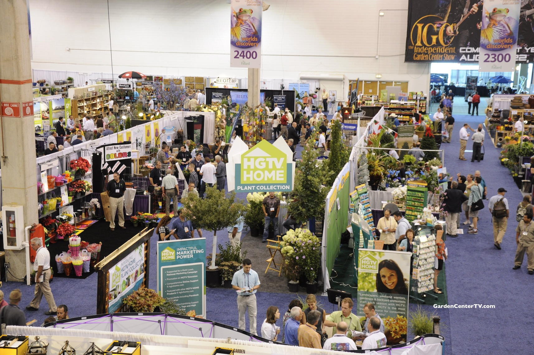 Independent Garden Center Show Convention Hall Chicago Garden