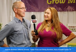 shirley-bovshow-host-garden-center-tv-interviews-andrew-beckkman-editorial-director-timber-press-gardencentertv