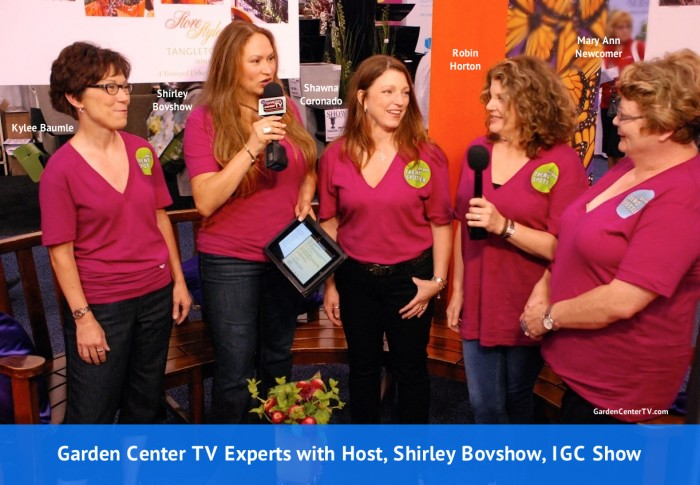 Garden-Center-TV-Garden-Product-Preview-Experts-with-Shirley-Bovshow-IGC-Show